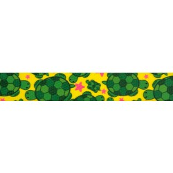 1 Inch Turtles Polyester Webbing