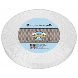 1 Inch Printable Heat Set Heavy Polyester Webbing