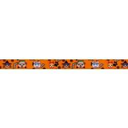 1/2 Inch Frightening Furbabies Photo Quality Polyester