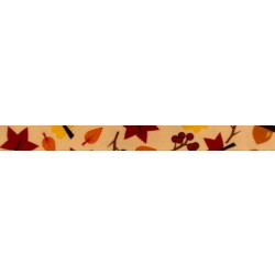 1/2 Inch Fall Foliage Photo Quality Polyester