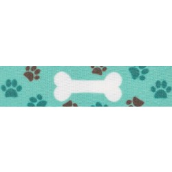 1/2 Inch Oh My Dog Photo Quality Polyester