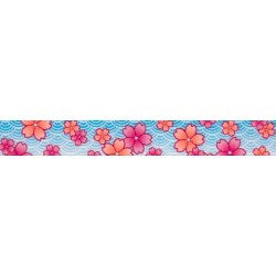 1/2 Inch Pink April Blossoms Photo Quality Polyester
