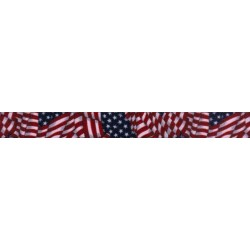 1/2 Inch Patriotic Tribute Photo Quality Polyester