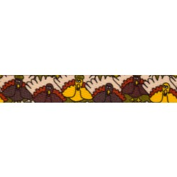 1/2 Inch Pilgrim Turkey Photo Quality Polyester