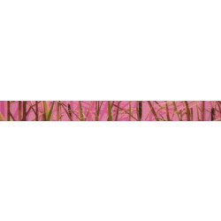 1/2 Inch Pink Waterfowl Camo Photo Quality Polyester