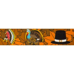 3/4 Inch Thanksgiving Tradition Photo Quality Polyester