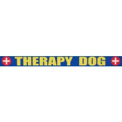 3/4 Inch Therapy Dog Photo Quality Polyester