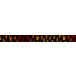 5/8 Inch Whitetail Buck Polyester Webbing
