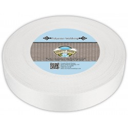2 Inch Printable Heat Set Polyester Webbing