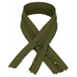 YKK #3 Coil Zipper, 7 Inch Length, Kentucky Olive Green 888