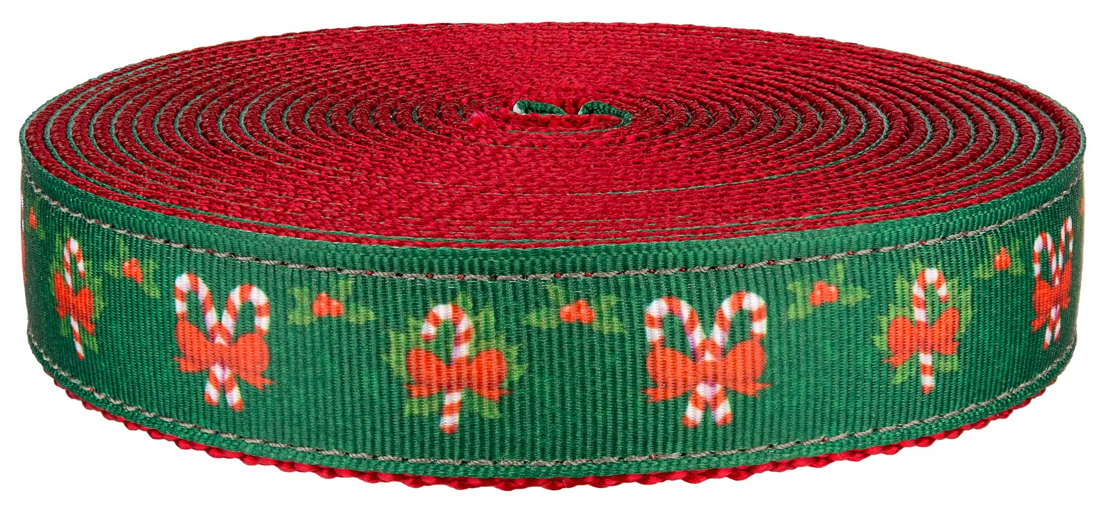 Country Brook Design® 3//4 Inch Red Heavy Nylon Webbing 50 Yards