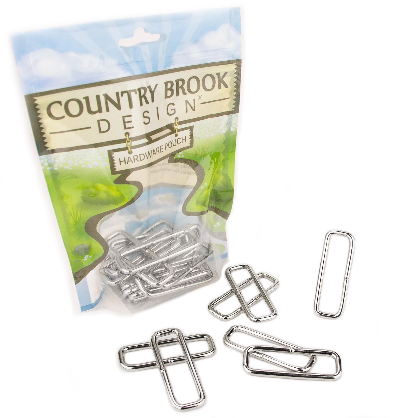 Bulk Buy 10-pack 2.5 2-1//2 Inch Pepperell Brass Metal Craft Macrame Rings