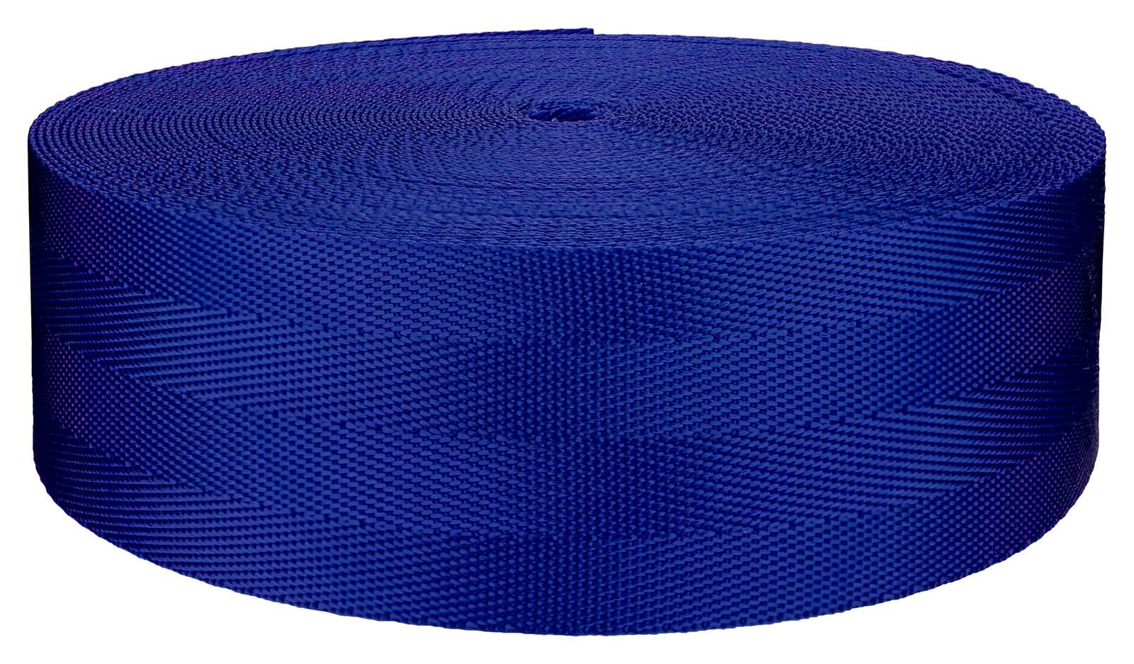 5//8 Royal Blue Heavy Nylon Webbing LK Sewing 10 Yards