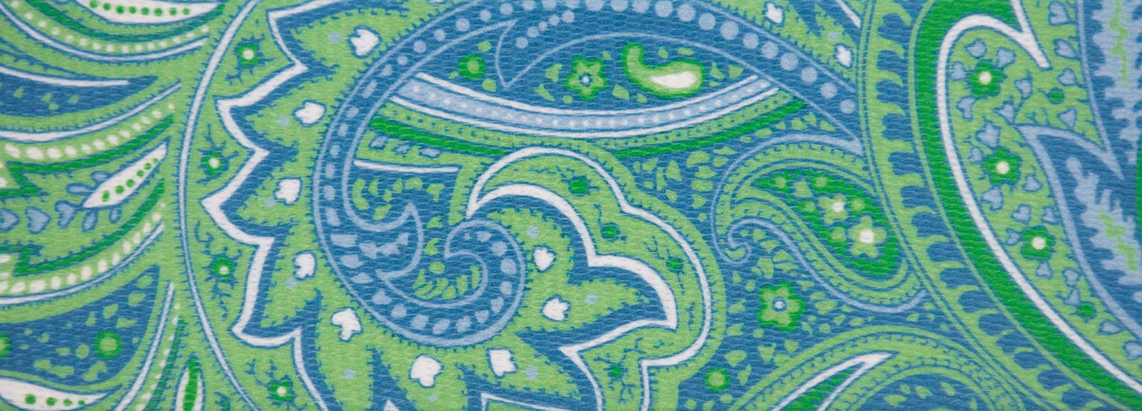 Country Brook Design 5//8 Inch Green Paisley Reflective Polyester Webbing