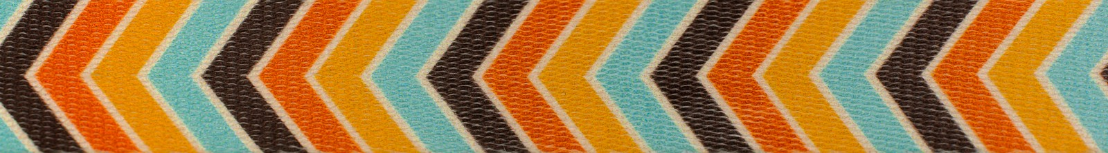 Country Brook Design® 3//8 Inch Harvest Chevron Polyester Webbing 10 Yards