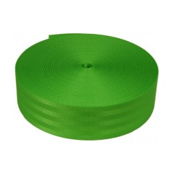 2 Inch Seat-belt Lime Green Polyester Webbing Closeout