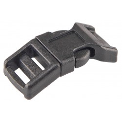1/2 Inch Contoured Side Release Plastic Buckles
