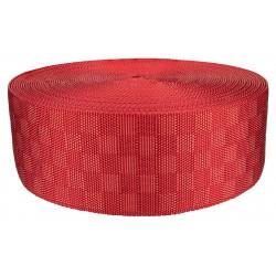 3 Inch Red Checkerboard Heavy Nylon Webbing Closeout