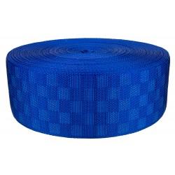 3 Inch Royal Blue Checkerboard Heavy Nylon Webbing Closeout