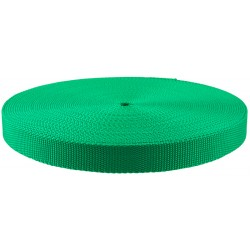 1 Inch Kelly Green Super Heavy Polypro Webbing Closeout
