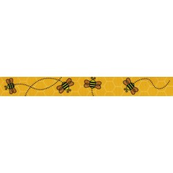 Busy Bee Grosgrain Ribbon