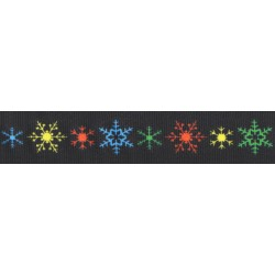 Brilliant Flakes Grosgrain Ribbon