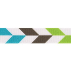 5/8 Inch Earthscape Grosgrain Ribbon Closeout, 1 Yard