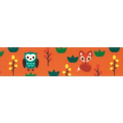 Foxy Friends Grosgrain Ribbon