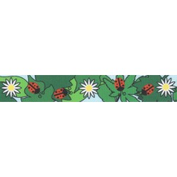 Ladybugs Picnic Grosgrain Ribbon