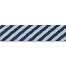 Night Sky Stripes Grosgrain Ribbon