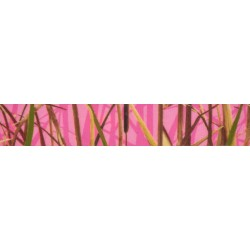 7/8 Inch Pink Waterfowl Camo Grosgrain Ribbon