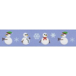 Snowman Grosgrain Ribbon