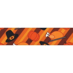 Thanksgiving Feast Grosgrain Ribbon