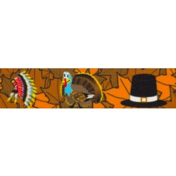 Thanksgiving Tradition Grosgrain Ribbon