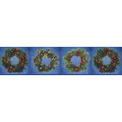 Wreaths Grosgrain Ribbon