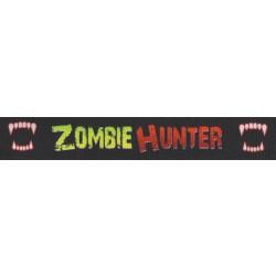 7/8 Inch Zombie Hunter Grosgrain Ribbon
