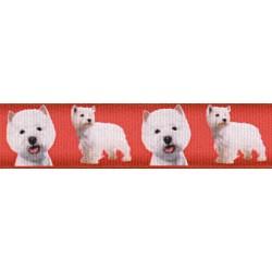 West Highland Terrier Grosgrain Ribbon