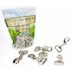 Country Brook Design® 1 Inch Swivel Snap Hooks