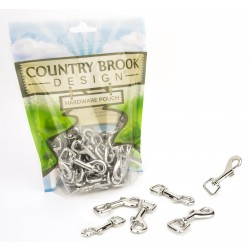 Country Brook Design® 1/2 Inch Swivel Snap Hooks
