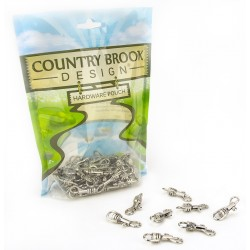 1/4 Inch Baby Snap Hooks