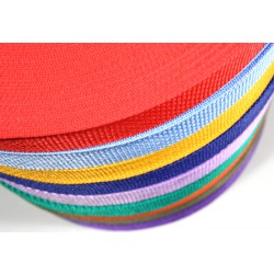 1/2 Inch Colors of Choice Polypro Webbing, 1000 Yards