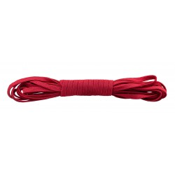 3/8 Inch Red Elastic Webbing Closeout