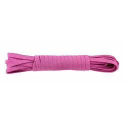 3/8 Inch Rose Elastic Webbing Closeout