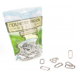 Country Brook Design® 1 Inch Lite Welded Rectangle Rings