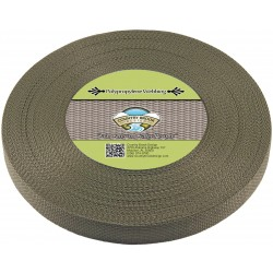 1 Inch Olive Drab Green Polypro Webbing