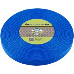 1 Inch Pacific Blue Polypro Webbing