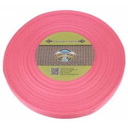 1 Inch Pink Polypro Webbing
