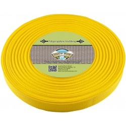 1 Inch Yellow Polypro Webbing