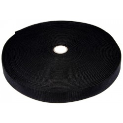 1 Inch Black Polypropylene Binding