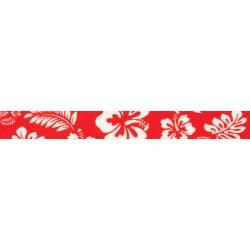 1 Inch Red Hawaiian Polyester Webbing